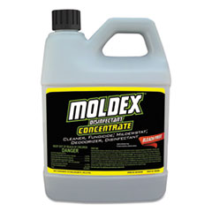 MOLDEX® Brand Disinfectant Concentrate, 64 oz Bottle