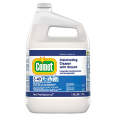 Comet® Disinfecting Cleaner w/Bleach, 1 gal Bottle, 3/Carton