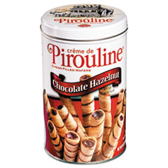 De Beukelaer Chocolate Hazelnut Pirouline Rolled Wafers, 14 oz