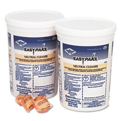Easy Paks® Neutral Cleaner, .5oz Packet, 90/Tub, 2 Tubs/Carton DVO990653