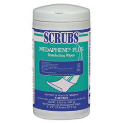 SCRUBS® MEDAPHENE® Plus Disinfecting Wipes