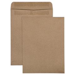 Quality Park(TM) 100% Recycled Brown Kraft Redi-Seal(TM) Envelope