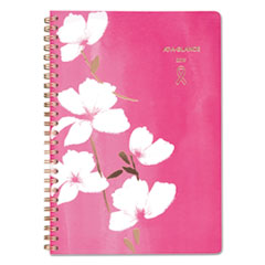 SORBET WEEKLY/MONTHLY PLANNER, 6 1/4 X 8 1/2, PINK,