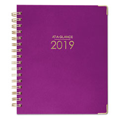 HARMONY WEEKLY/MONTHLY HARDCOVER PLANNER, 6 7/8 X 8