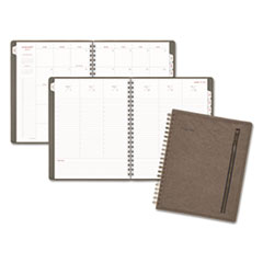 AT-A-GLANCE® Signature Collection® Distressed Green Monthly Planner Thumbnail
