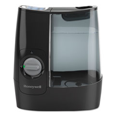 Honeywell Filter Free Warm Mist Humidifier, 1 gal, 11.95w x 7.45d x 12.45h, Black