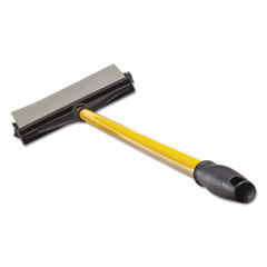 """Rubbermaid® Commercial Maximizer Broomgee, 7"""", Yellow/Black"""