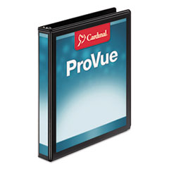Cardinal® ProVue™ Non-stick Concealed Rivet Round Ring Binder
