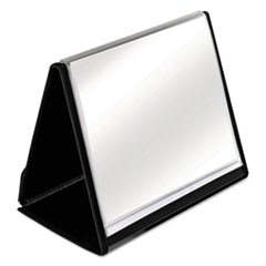 Cardinal® ShowFile Horizontal Display Easel, 20 Letter-Size Sleeves, Black