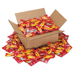 Office Snax® Candy Assortments, Skittles/Starburst, 5 lb Box
