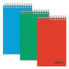 Memo Books, Narrow Rule, 3 x 5, White, 60 Sheets, 3/Pack