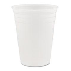 Dart® Conex Translucent Plastic Cold Cups, 16oz, 1000/Carton