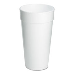 Dart® Foam Drink Cups, 20oz, 500/Carton