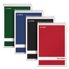 TOPS™ Steno Book with Assorted Color Covers