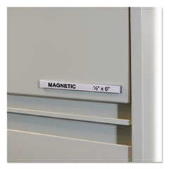 C-Line® HOL-DEX® Magnetic Shelf/Bin Label Holders