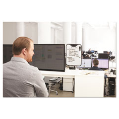 3M(TM) Monitor Whiteboard