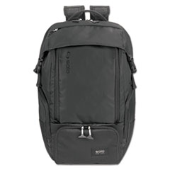 "Solo Elite Backpack, 5.25"" x 21.5"" x 21.5"", Nylon, Black"