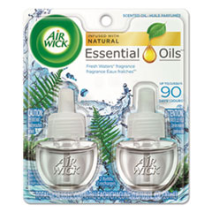 Air Wick® Scented Oil Refill, Fresh Waters, 0.67 oz, 2/Pack