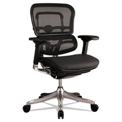 Eurotech Ergohuman Elite Mid-Back Mesh Chair Thumbnail