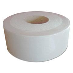 "Boardwalk® Jumbo Roll Tissue, Septic Safe, 2-Ply, White, 3.3"" x 1000 ft, 12 Roll/Carton"