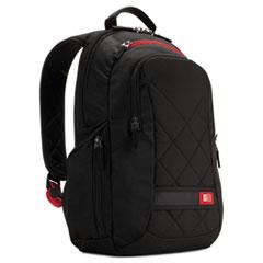 "Case Logic® Diamond 14"" Backpack, 6.3"" x 13.4"" x 17.3"", Black"