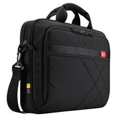 "Case Logic® Diamond 17"" Laptop Briefcase, 17.3"" x 3.2"" x 12.5"", Black"