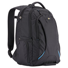 """Case Logic® 15.6"""" Checkpoint Friendly Backpack, 2.76"""" x 13.39"""" x 19.69"""", Polyester, Black"""