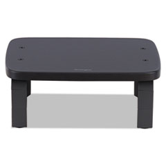 """Kensington® SmartFit Monitor Stands, 12.25"""" x 2.25"""" x 1.75"""" to 4.75"""", Black, Supports 40 lbs"""
