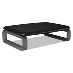 """Kensington® SmartFit Monitor Stand Plus, 16.2"""" x 2.2"""" x 3"""" to 6"""", Black, Supports 80 lbs"""
