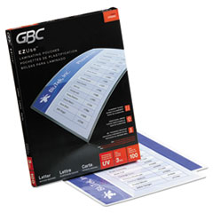 Swingline® GBC® EZUse™ Thermal Laminating Pouches Thumbnail