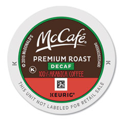 McCafe® Premium Roast Decaf K-Cup, 24/BX