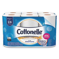 Cottonelle® Ultra CleanCare Toilet Paper, Strong Bath Tissue
