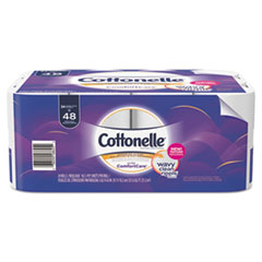 Cottonelle® Ultra ComfortCare Toilet Paper, Soft Tissue, Septic Safe, 2 Ply, 142/Roll, 24 Rolls/Pack, 2 Packs/Carton