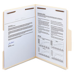 Smead® SuperTab® Reinforced Guide Height Fastener Folders Thumbnail