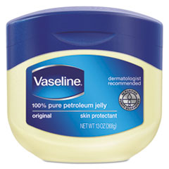 Vaseline® Jelly Original, 13 oz Jar, 24/Carton