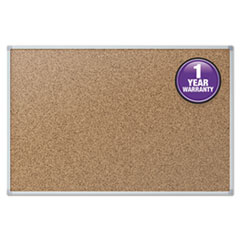 Mead® Economy Cork Board with Aluminum Frame Thumbnail