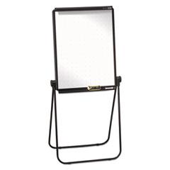 Quartet® Unimate Total Erase Presentation Easel, 26 x 34, White Surface, Black Frame