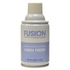 Fresh Products Fusion Metered Aerosols, Linen Fresh, 6.25 oz, 12/Carton