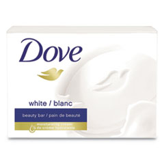 White Beauty Bar, Light Scent, 2.6 oz, 36/Carton