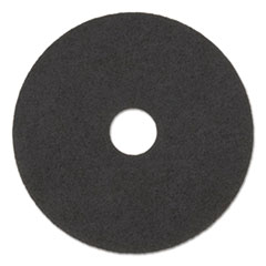 "Boardwalk® High Performance Stripping Floor Pads, 17"" Diameter, Grayish Black, 5/Carton"