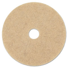 "Boardwalk® Natural Hog Hair Burnishing Floor Pads, 19"" Diameter, 5/Carton"