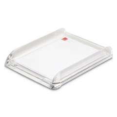 """Swingline® Stratus Acrylic Document Tray, 1 Section, Letter Size Files, 10.75"""" x 2.5"""" x 13.25"""", Clear"""