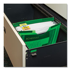 C-Line® Expanding File with Hanging Tabs