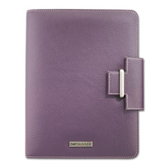 AT-A-GLANCE® Day Runner® Terramo Refillable Planner, 8 1/2 x 5 1/2, Eggplant