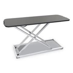 Alera® AdaptivErgo Laptop Lifting Workstation, 31.25w x 12.63d x 16h, Black/Silver