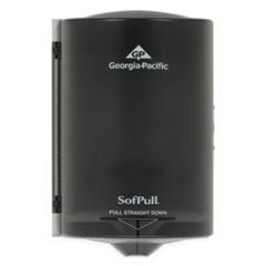 Georgia Pacific® Professional Junior C-Pull Towel Dispenser, 7.13 x 6.69 x 10.75, Translucent Smoke