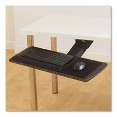 Kensington® Adjustable Keyboard Platform with SmartFit System, 21.25w x 10d, Black