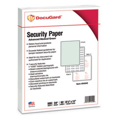 DocuGard(TM) Medical Security Papers