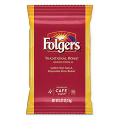 Folgers® Traditional Roast, Regular, 0.27 oz Packet, 96/Carton