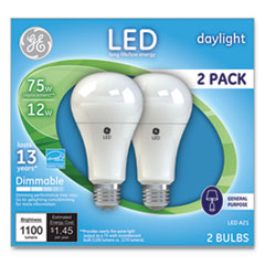 GE LED Daylight A21 Dimmable Light Bulb